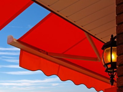 Business with mapes awnings
