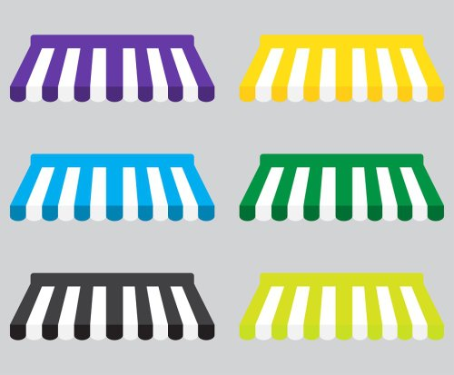 colored - awnings