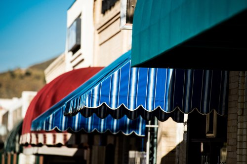 Fabric options in Awning