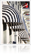 Monochrome Design Fabric at Window