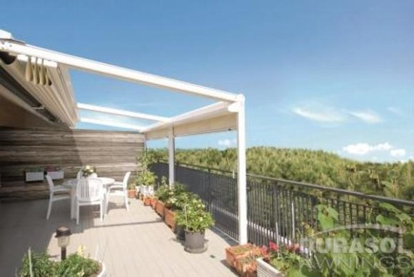 Gennius Retractable roof system in New York City