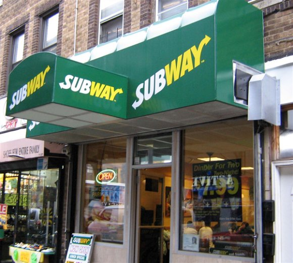 Awining services for Subway